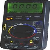 3 3/4 digits Multi display digital multimeter