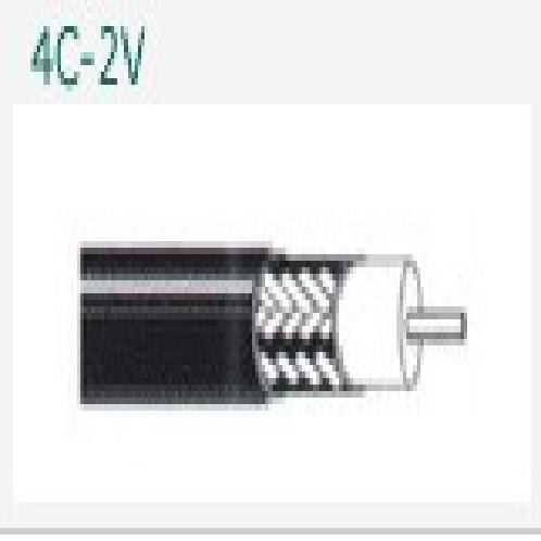 4C-2V  | Broadcasting Cable(RG series, HFB series, 2V series)