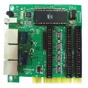 network wall card