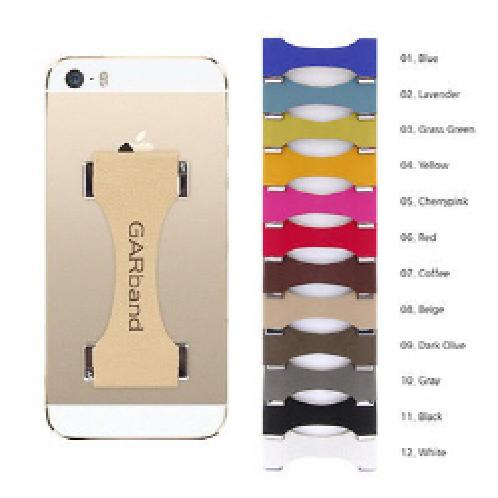 Smartphone Adhesive type Leather Band GARBand | Smartphone ,Leather Band,  Adhesive type