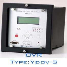 Overvoltage Relay for Capacitor Protection(Type : YDOV-3)
