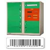 Barcode locker case