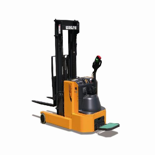 ELECTRIC FORKLIFT TUCK - WALKIE REACH TYPE | Electric, Walkie, Small, Reach, Stand up, Warehouse