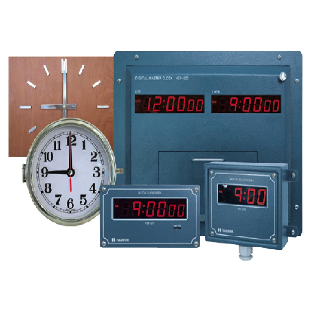 Digital Marine Clock (HGC-100)