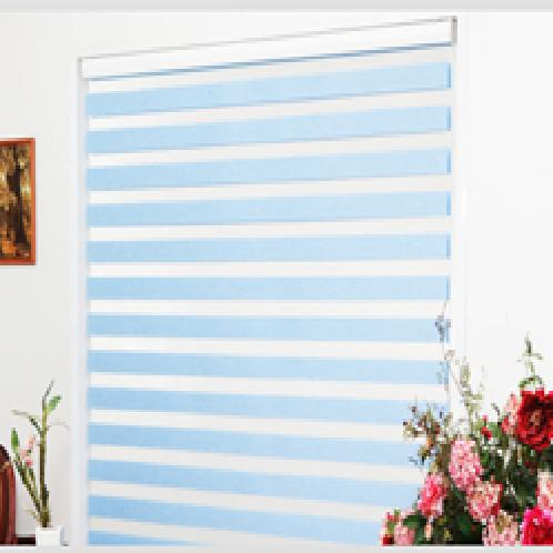 PLAIN BLIND | Dual fabric repeating transparency