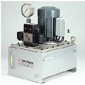 3 HP MOTOR-DRIVEN HYDRAULIC PUMP