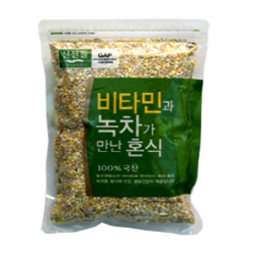Mixed Food by Vitamin and Green Tea(800g) | Agriculture, Grain, Bean