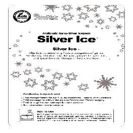 Nano Silver Ice pack