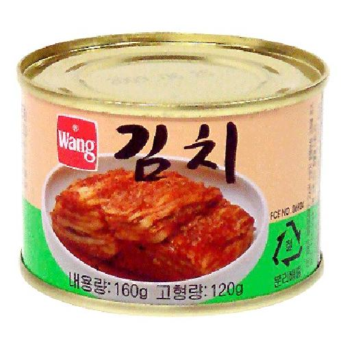 Canned Kimchi 160g*48 cans | Food and beverage industries