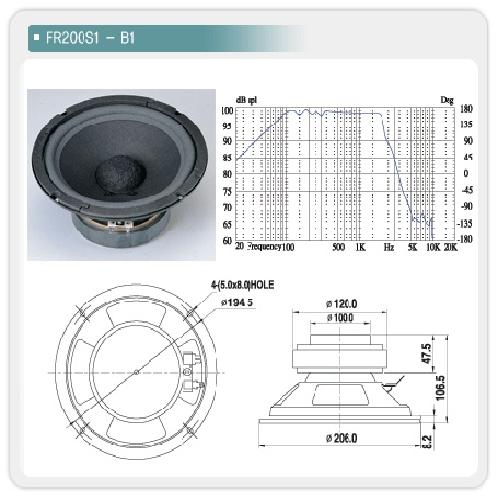 FR200S1-B1 | Audio visual equipment accessories