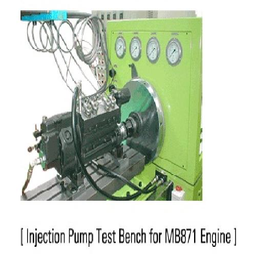 Injection Pump Test Bench for MB871 Engine | Injection Pump, Test equipment