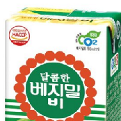 [Dr.Chung9s Food] Sweet Vegemil B Soymilk 190ml (6.4 fl oz.) Pack of 16