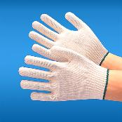 Cotton-Poly Knitted Gloves