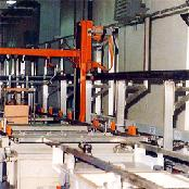 AUTOMATIC SIDE ARM TYPE PLATING MACHINE