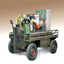 Mobile air starter and ground power unit
