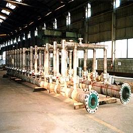 Offshore plant pipe spool