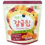 Tangerine  Chips, Freeze Dried, Dried Fruit, Dried Tangerine, Snack