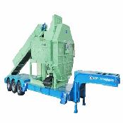 TIRE SHREDDER M/C MOBILE TYPE