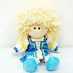 full image [HSPN] 'BBOGURI' plush doll of Russia