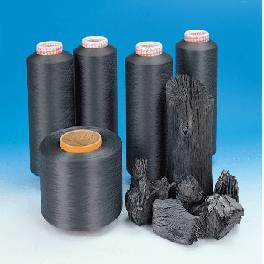 Polyester health charcoal yarn