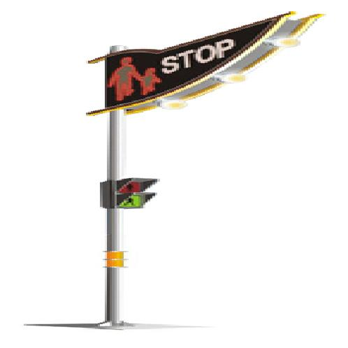 Safety Lights for Pedestrian Crossing | Safety Lights for Pedestrian Crossing, Safety Lights, Safety Lights for Crossing