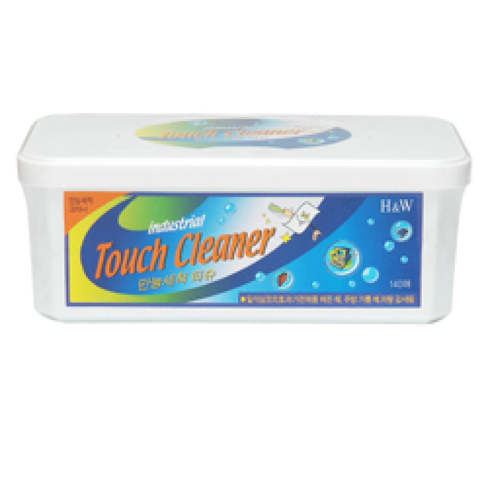 Touch Cleaner-All-Purpose Touch 140 Sheets (Square Container)
