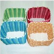 PE CUTE BASKET (LARGE SIZED, TWO COLORS TONING)