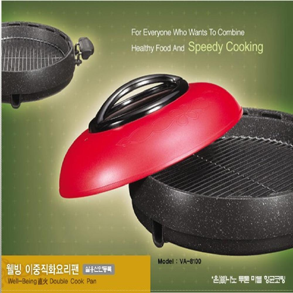 Well-being direct heat cooking pan