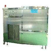 Ultrasonic wave washer with several tanks