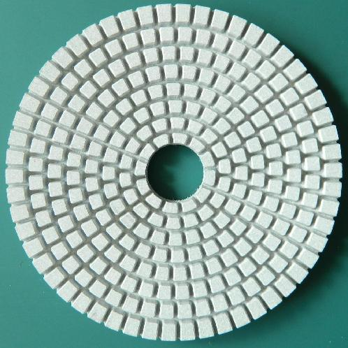 Engineered Stone Polishing Pad | diamond tool, engineered stone polishing pad, man-made stone polishing pad, artificial stone polishing pad, wet polishing pad, 3 step, dry pad, wet pad, engineered