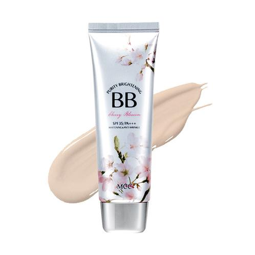 PURITY BRIGHTENING BB [Cherry Blossom] | bb cream,mcc cosmetic,whitening cream, White Brightening BB, Skin bright, skin cover