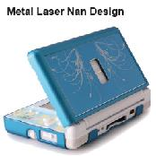 Nintendo DSL Metal Laser with Nan Design Case