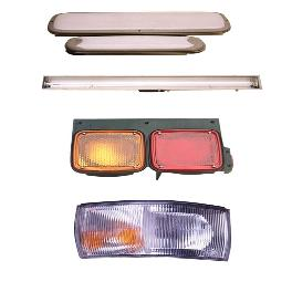 Fluorescent Lamp For Vehicles, Lamp For Passenger Coach, Rear Combination Lamp, Front Turn Signal La