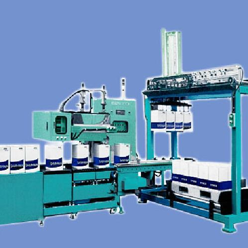 Automatic Can Filler with palletizer |
