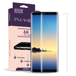 Full coverage 3D glass shield air 6H screen protector for Galaxy Note 8