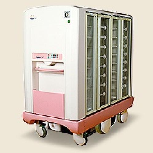 Manual Driving Hot & Cool Food Service Cart | meal transportion related hospitals, meal distribution service system, meal trolley, food service