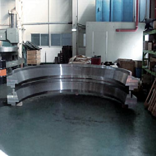 Half Cutting Ring | forged flange, special flange, half cutting ring, WNRF