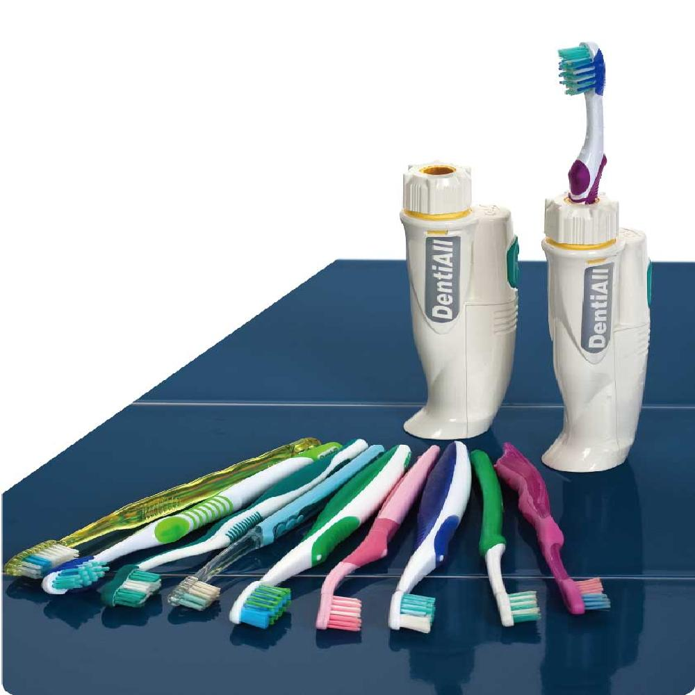 DentiAll - Your Manual Toothbrush With Sonic....
