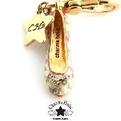 [Charmsholic] Flower Flat Shoe Charm