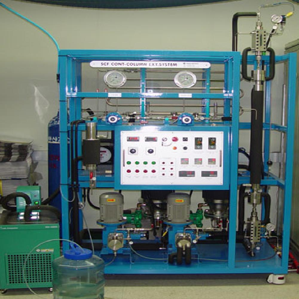 OEM extraction by CO2-supercritical extraction system