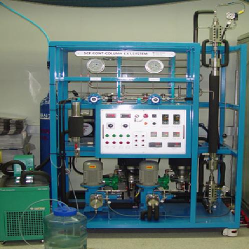 OEM extraction by CO2-supercritical extraction system | The CO2-supercritical extraction system
