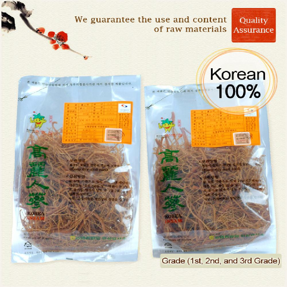 1,500 Year Red Ginseng Tail Root (300g)