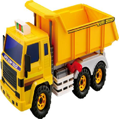 SUPER DUMP TRUCK | toy, car, vehicle, dump truck
