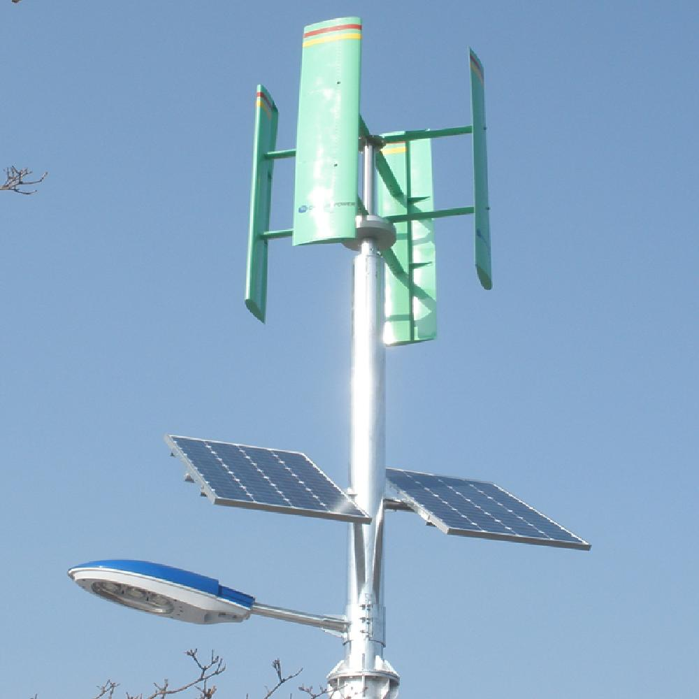 Vertical axis wind power generator