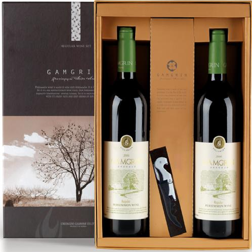 GAMGRIN Regular 750ml set | persimmon, wine, red, white, alcohol