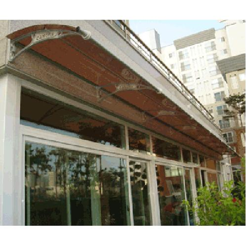 CANOFIX awning | polycarbonate awning, door canopy, window canopy