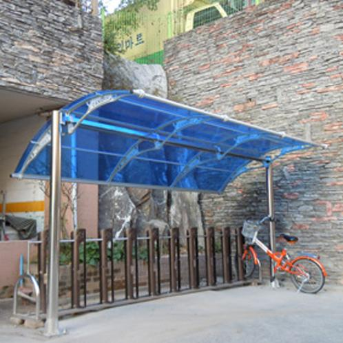 CANOFIX Canopy | polycarbonate canopy, bicycle storage shed