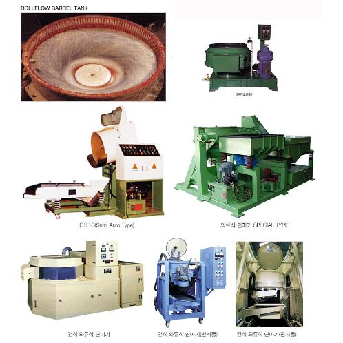 Roll-flow finishing machine | Barrel machine, polishing, burnishing, finishing, CENTRIFUGAL BARREL POLISHING MACHINE, VIBRATORY FINISHING BARREL MACHINE