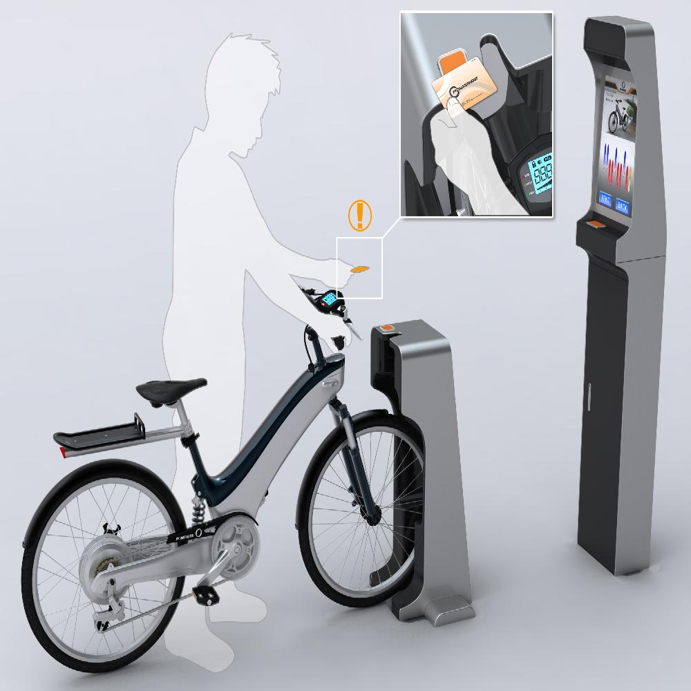 Public Intelligent bicycle