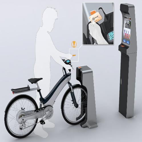 Public Intelligent bicycle | Intelligent bicycle, Smart Business Package, bicycle, Public Rental Package